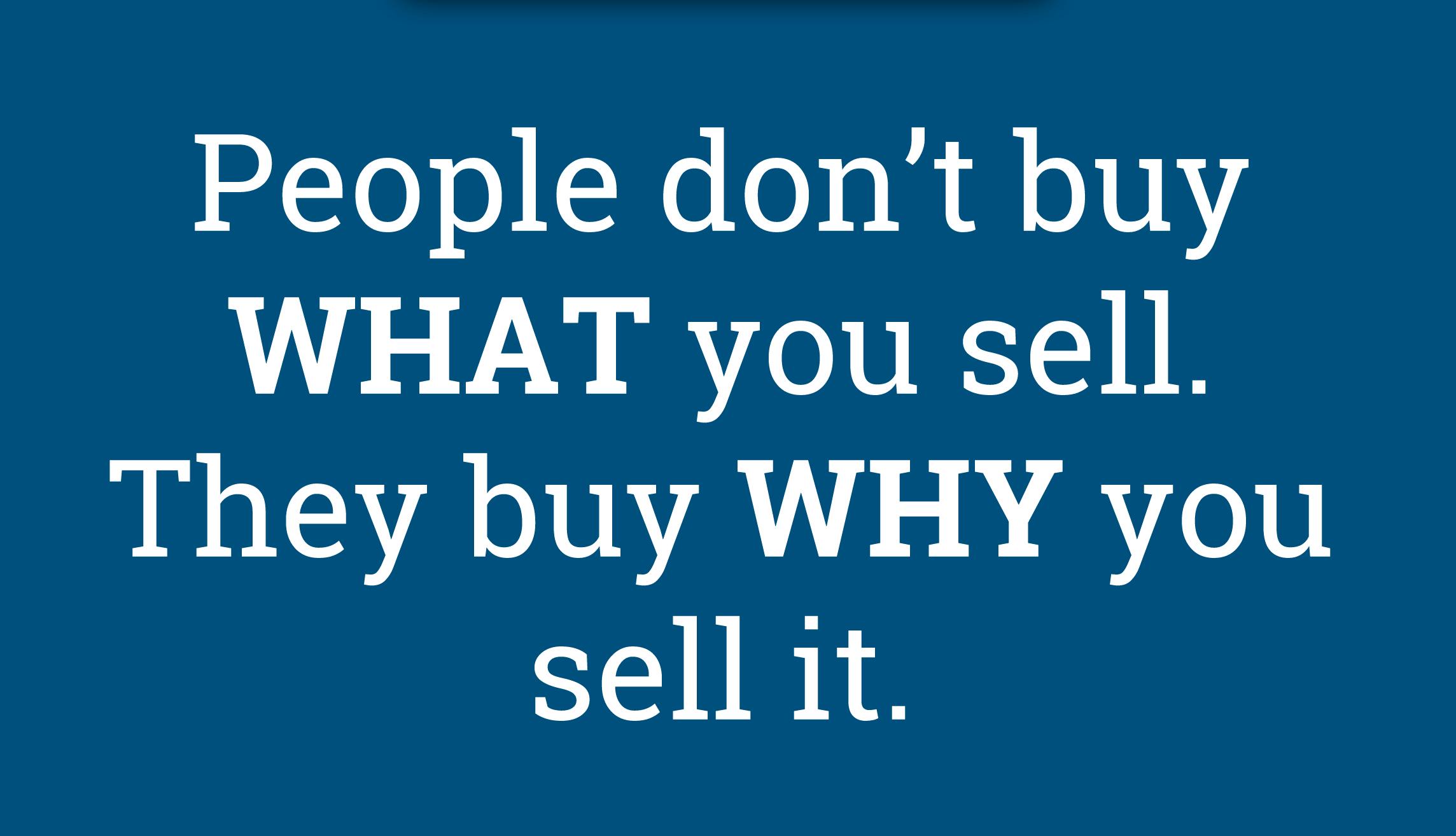 why we buy what we buy